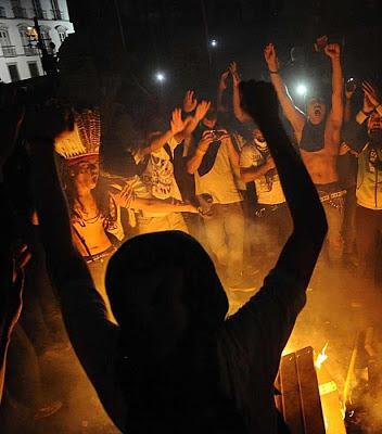 Manifestação anarco-comunista no Brasil