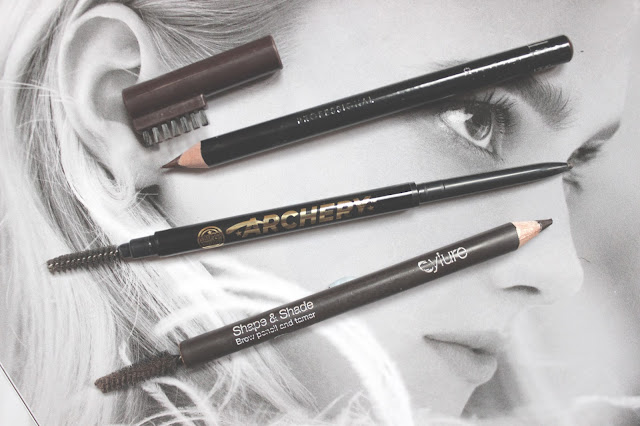 Rimmel, Soap and Glory and Eylure Eyebrow Pencils