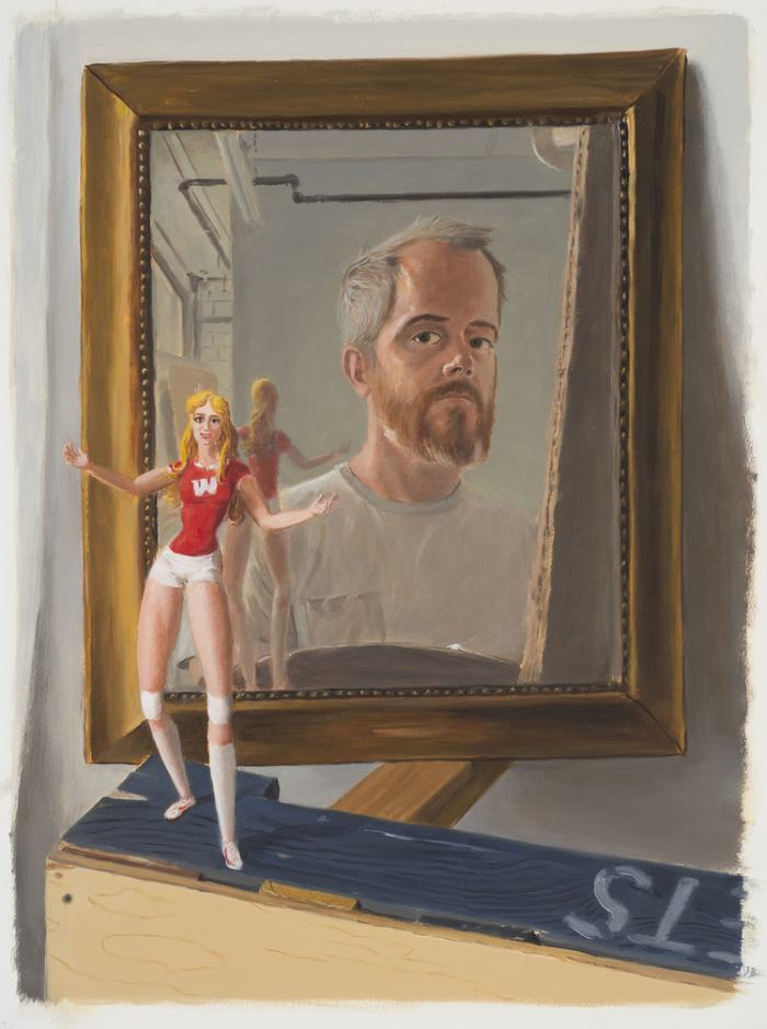 Фигуративный живописец. Jansson Stegner