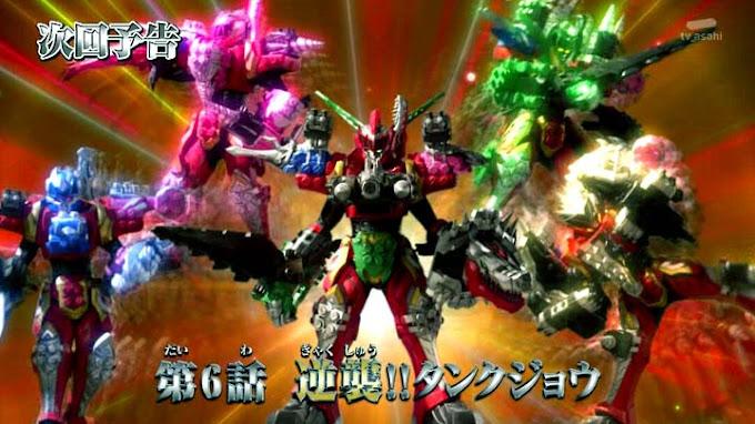 Spoiler Kishiryu Sentai Ryusoulger Episode 6, Serangan Balik Tankjoh