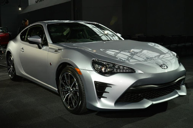 New Featur Toyota GT 86 Show At New york front view