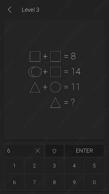 Math Level 3 Solution, Cheats, Walkthrough for Android and iOS