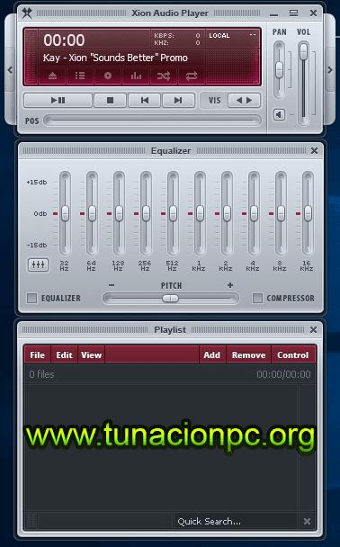 Xion Audio Player Full Imagen