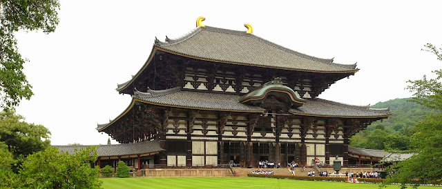 Todaiji Temple, Nara Park, Japan