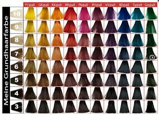 Thuật ngữ chuyên dùng trong ngành nhuộm tóc 3D