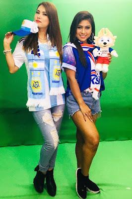 Barbie Nouva dan MAria Ozawa hot pant mulus