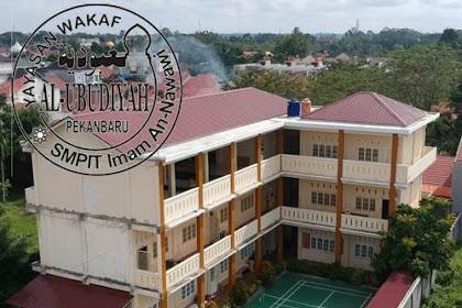 Lowongan SMPIT Imam An-Nawawi Pekanbaru Mei 2019