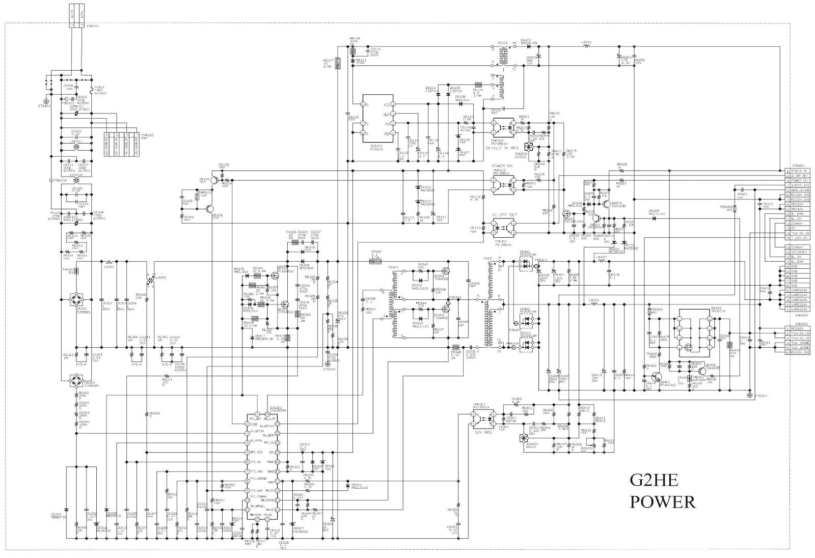 [DIAGRAM] Sony Klv 32ex330 Circuit Diagram FULL Version HD