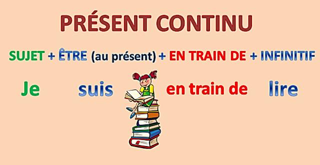Présent continu - tworzenie czasu 2 - Francuski przy kawie