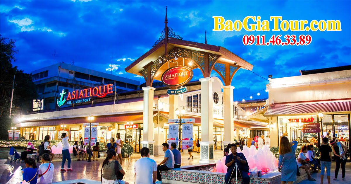 Tour du lịch Thái Lan TPHCM đi Bangkok trong 5 ngày 4 đêm