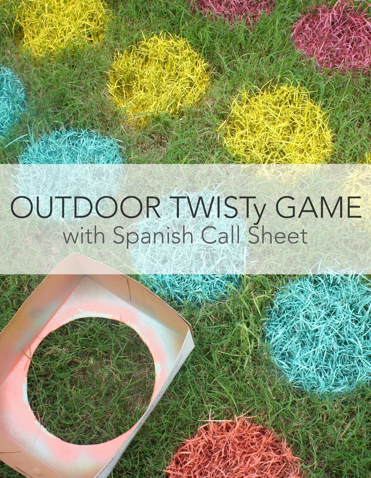 Outdoor games to increase spanish vocabulary