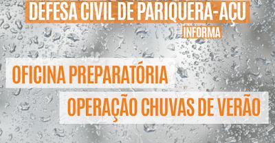 Pariquera-Açu recebe Oficina Preparatória para Operação Chuvas de Verão, da Defesa Civil do Estado