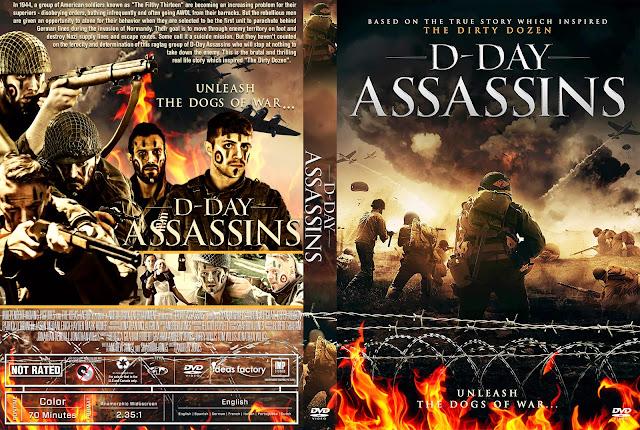 D-Day Assassins (The Filthy Thirteen) DVD Cover