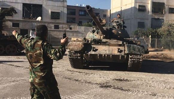 """الصراخ الأميركي و""""الإسرائيلي"""" يرتفع من الجنوب بعد تحرك الدبابات السورية"""