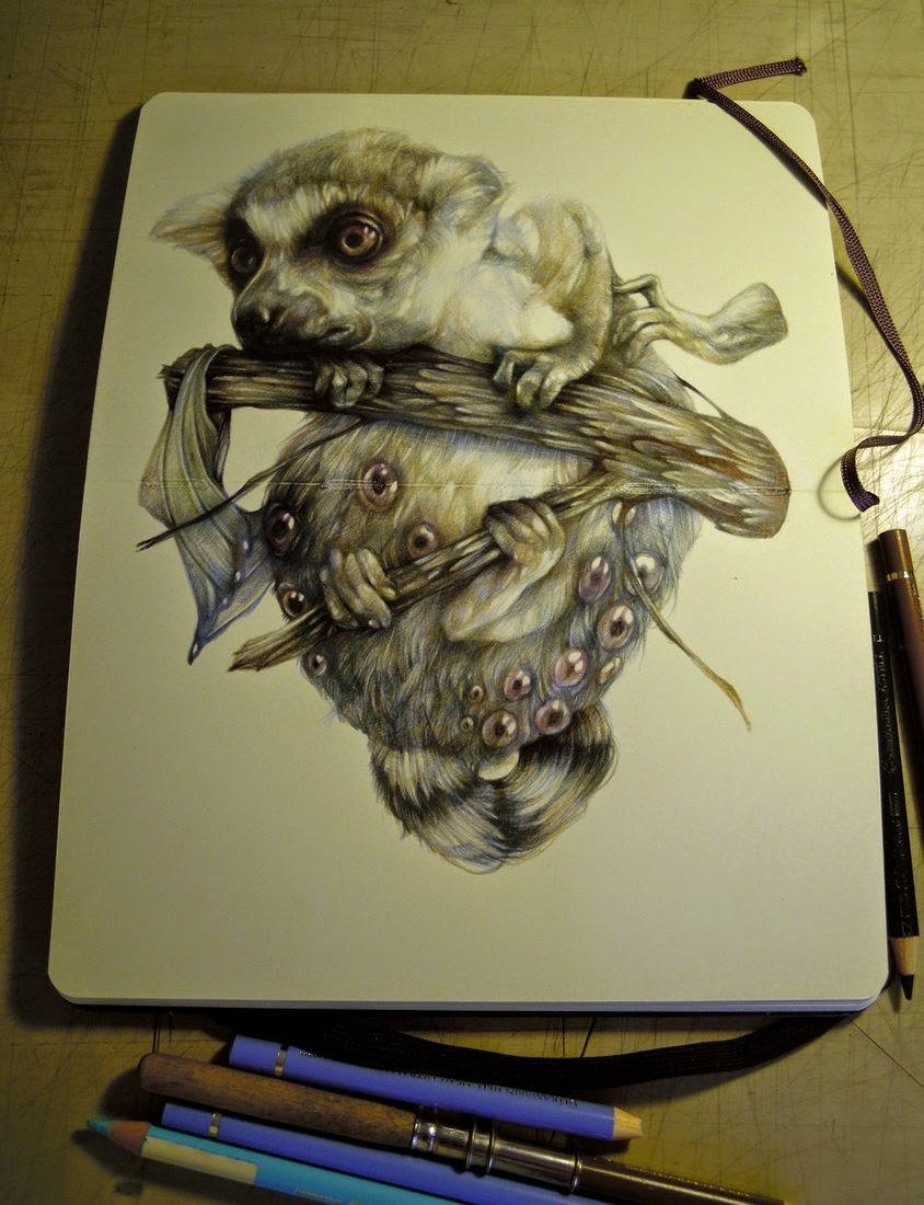 16-Marco-Mazzoni-Surreal-Animal-Drawings-www-designstack-co