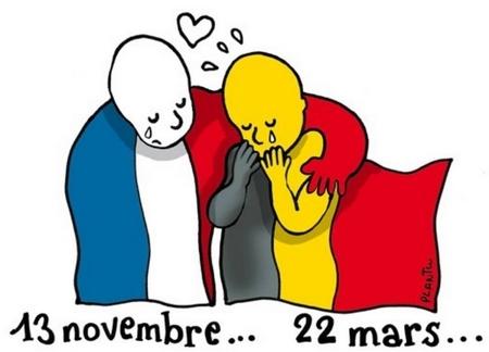 attentats Belgique