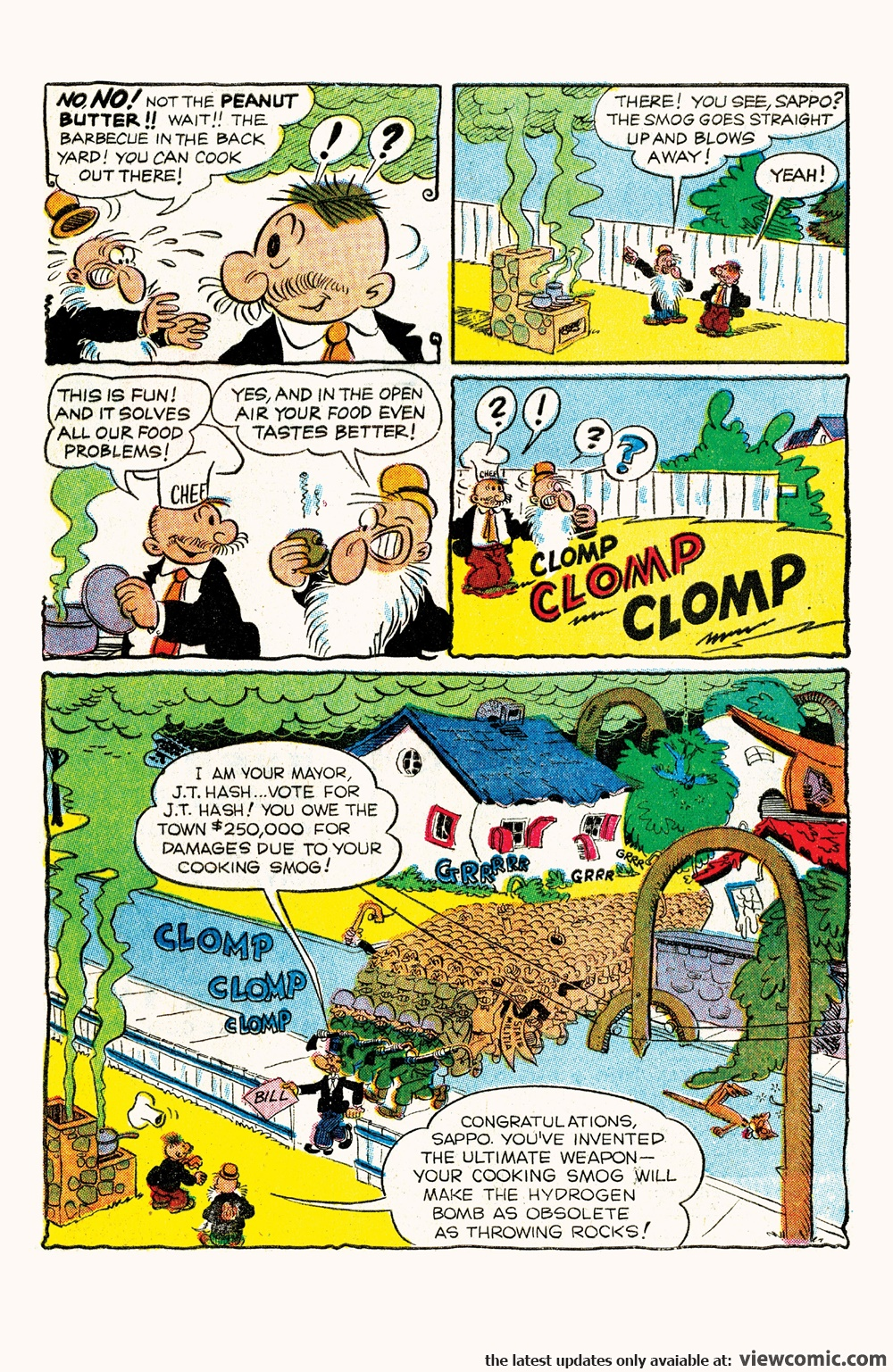Classic Popeye 060 (2017) | Vietcomic.net reading comics online for free