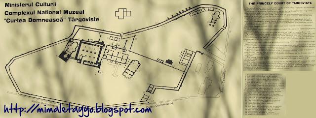Plano Corte Principesca Targoviste