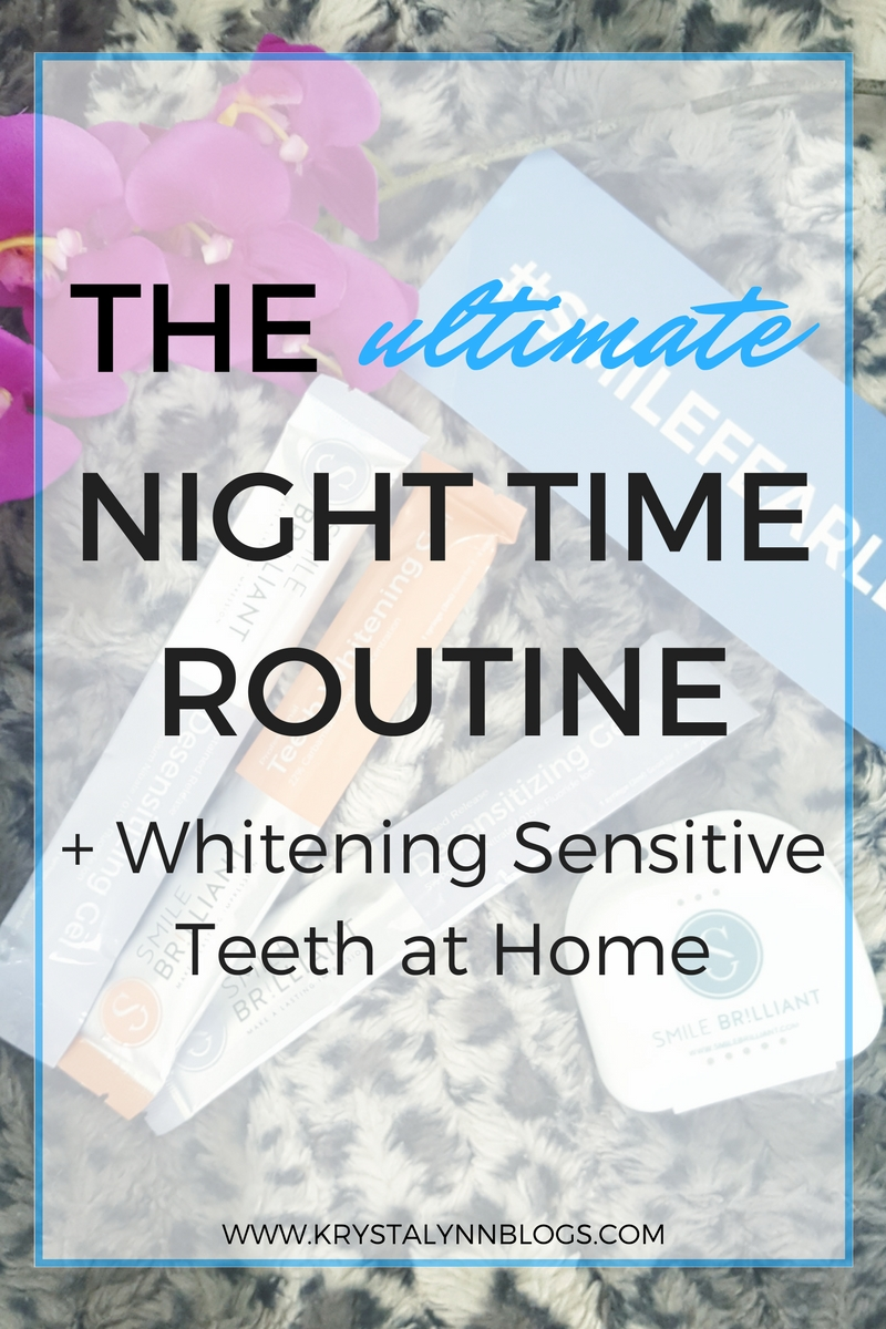 Having a night time routine is a great way to ensure a successful day ahead.