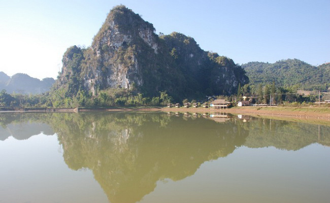 Xvlor Vieng Xai Caves is hidden city to avoid bombardment by US Air Force