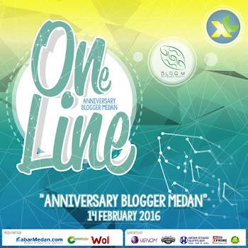 Syukuran Anniversary Blogger Medan