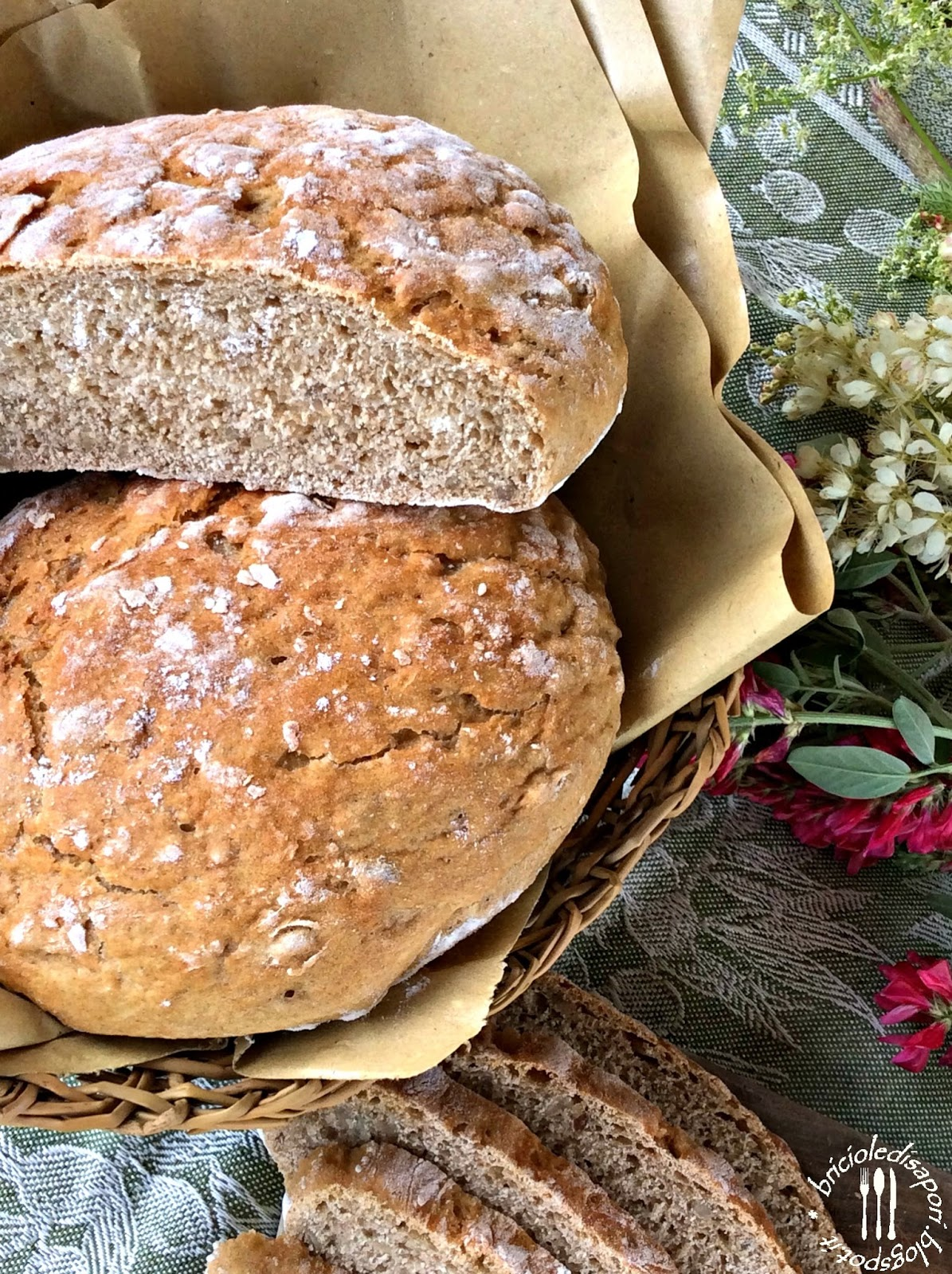 pane toscano senza sale