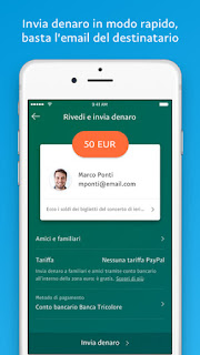 PayPal, l'app si aggiorna alla vers 6.3.1