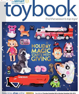 Walmart Flyer Toybook - Holiday Magic Starts With Giving Valid Dec 1 – Dec 24