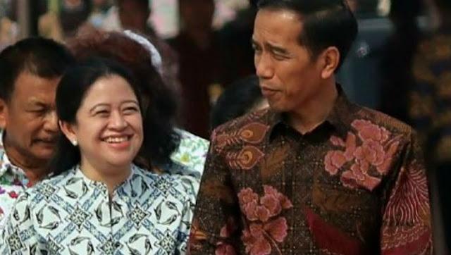 Cawapres Inisial M, Jokowi juga Sebut 'Mbak Puan'
