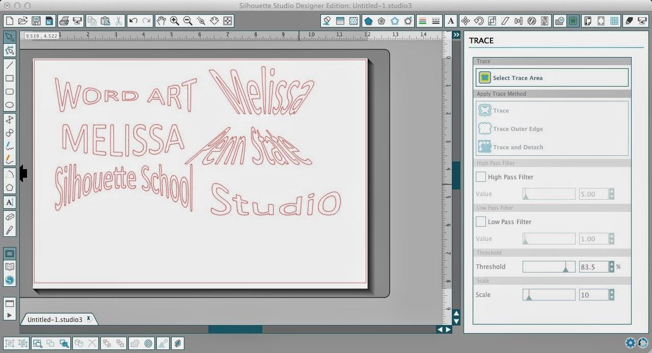 Word art, Silhouette Studio, Silhouette tutorial