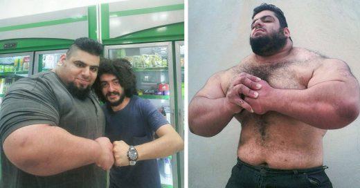 """Sajad Gharibi es nombrado el """"Hulk Iraní"""" y es impresionante"""