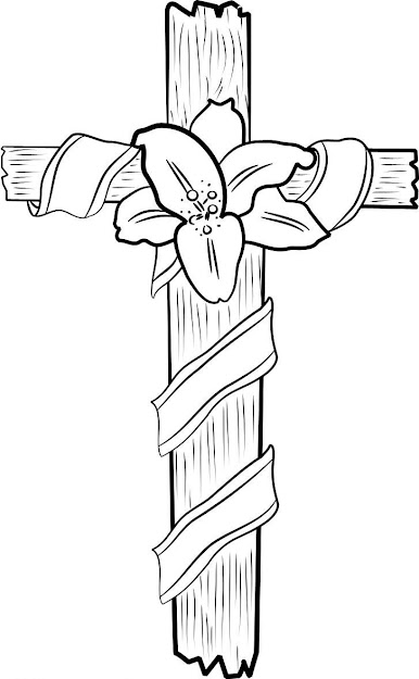 Crosscoloringpages  Free Printable Cross Coloring Pages For Kids