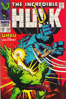 Incredible Hulk #110, Umbu and Ka-Zar