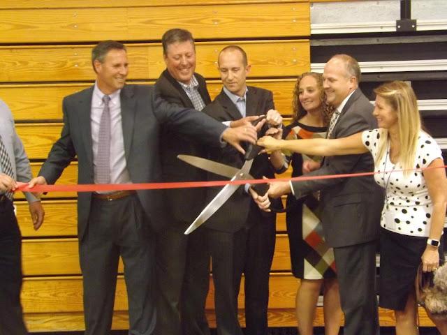 Special Needs School Ribbon Cutting, Metamora Herald