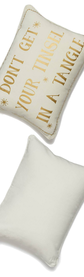 Levtex Don't Get Your Tinsel in a Tangle Accent Pillow