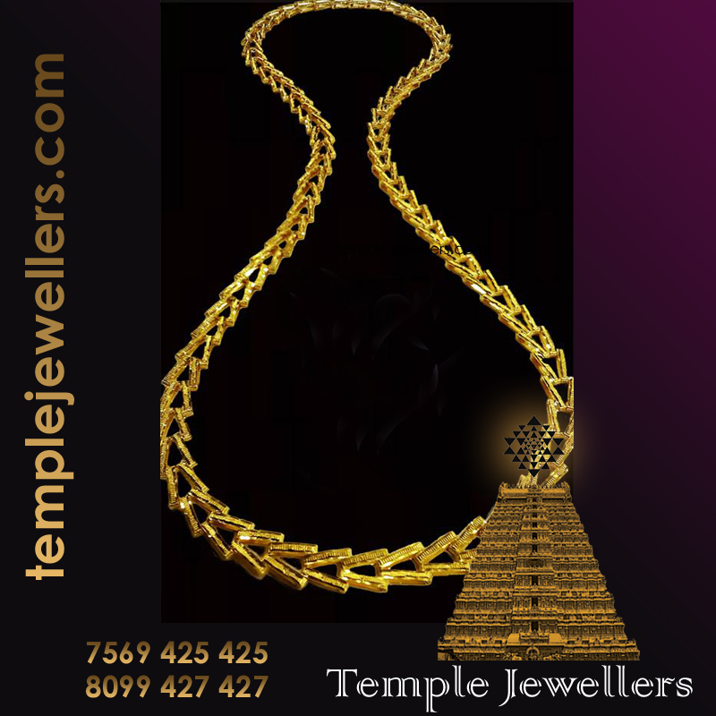 Hand Made Machine Made Chains Designs Temple Jewellers