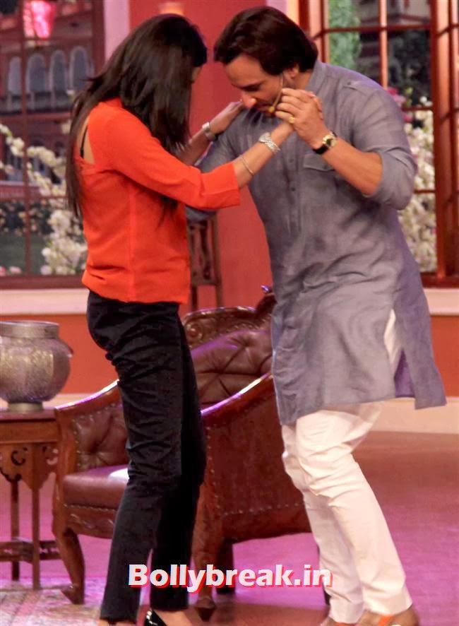 Saif Promotes Bullett Raja, Saif ali khan on Comedy nights with Kapil