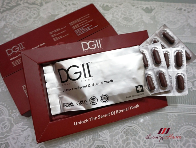 dgii sheep placenta age defying cell therapy softgels