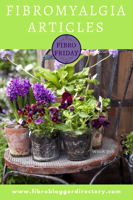 Fibromyalgia Articles - Fibro Friday week 208