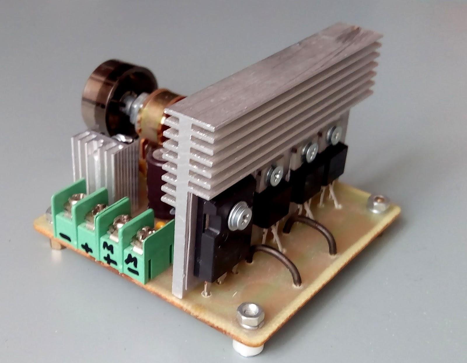 ne555 схема регулятора оборотов