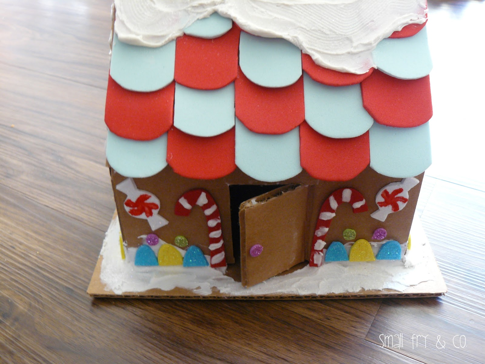 Small Fry & Co Not Your Ordinary Gingerbread House