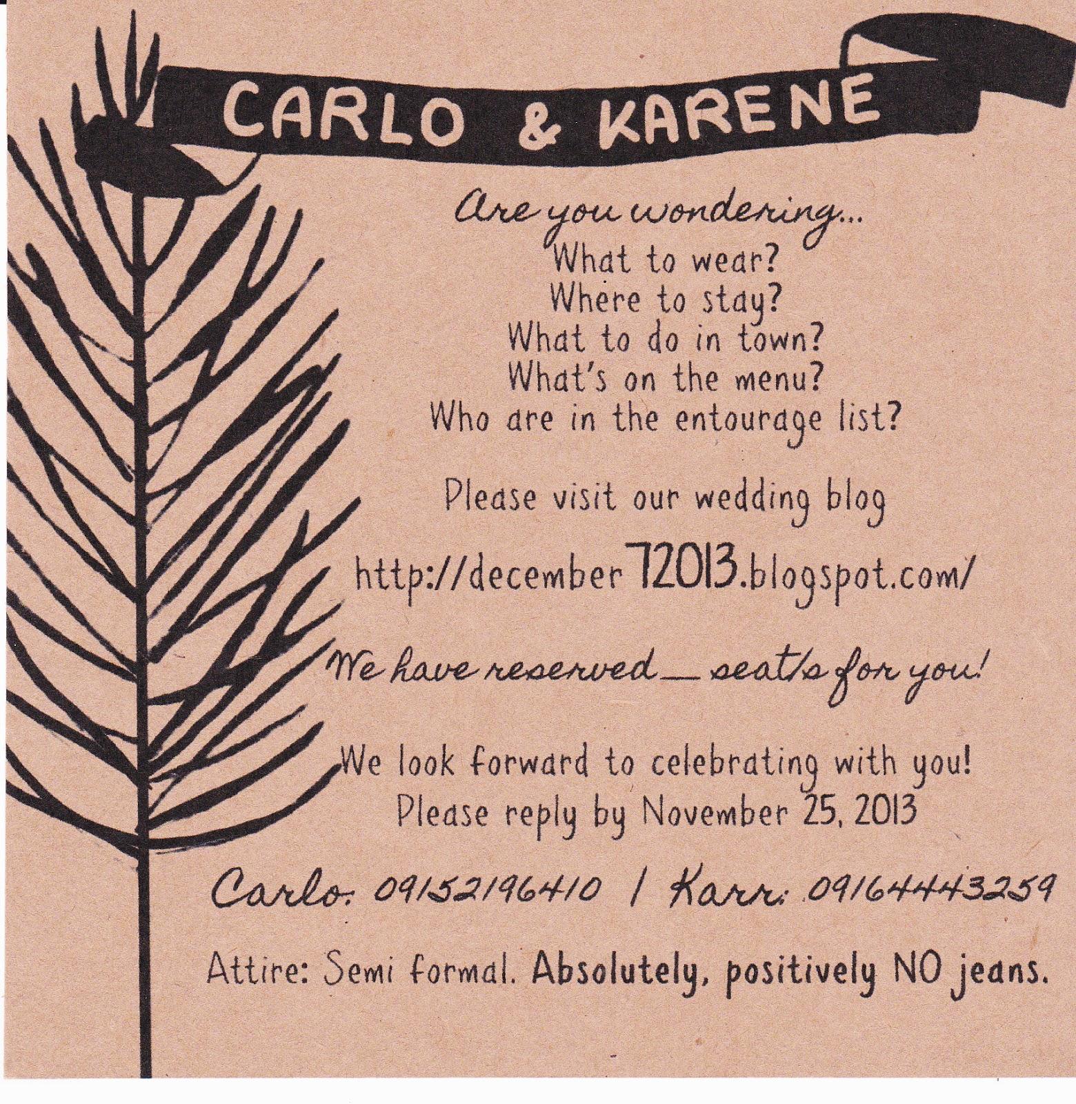 Non Traditional Wedding Invitation | PaperInvite