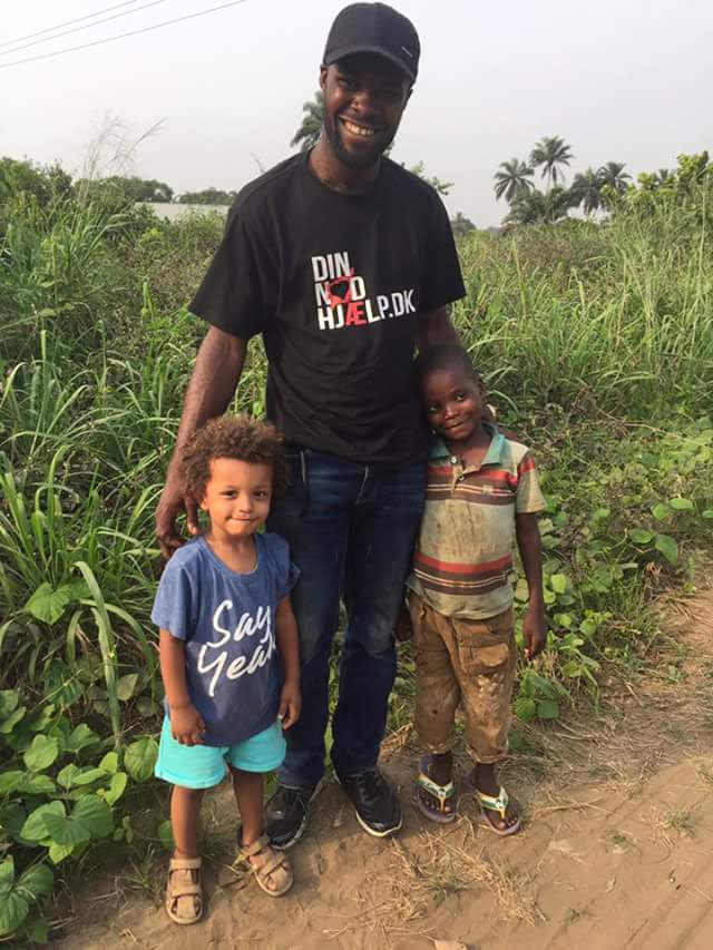 Remember her? Anja Lovén rescues another abandoned Nigerian child