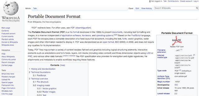 PDF doc on Wikipedia