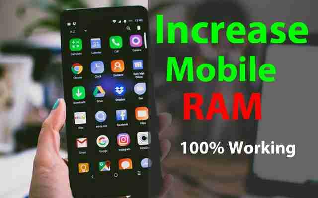 Android Mobile Ka Ram Kaise Badhaye - 100% Working Tricks