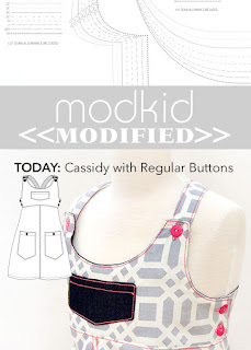 Modkid Cassidy with Regular Buttons