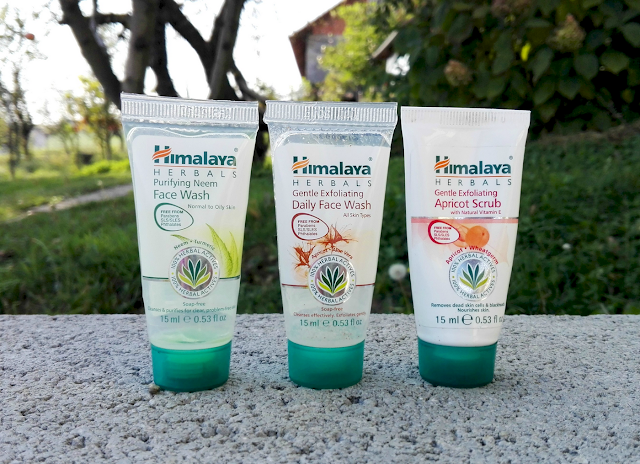 Himalaya Herbals Purifying Neem Face Wash, Gentle Exfoliating Daily Face Wash & Gentle Exfoliating Apricot Scrub