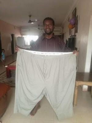 Nigerian Man 'Emeka Okeke' loses lots weights, Leaving Many In Shock (Photo)