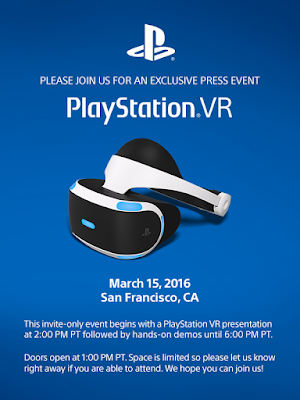 This Week In Videogames – 28/02/2016 ps vr event gdc 2016 march 18