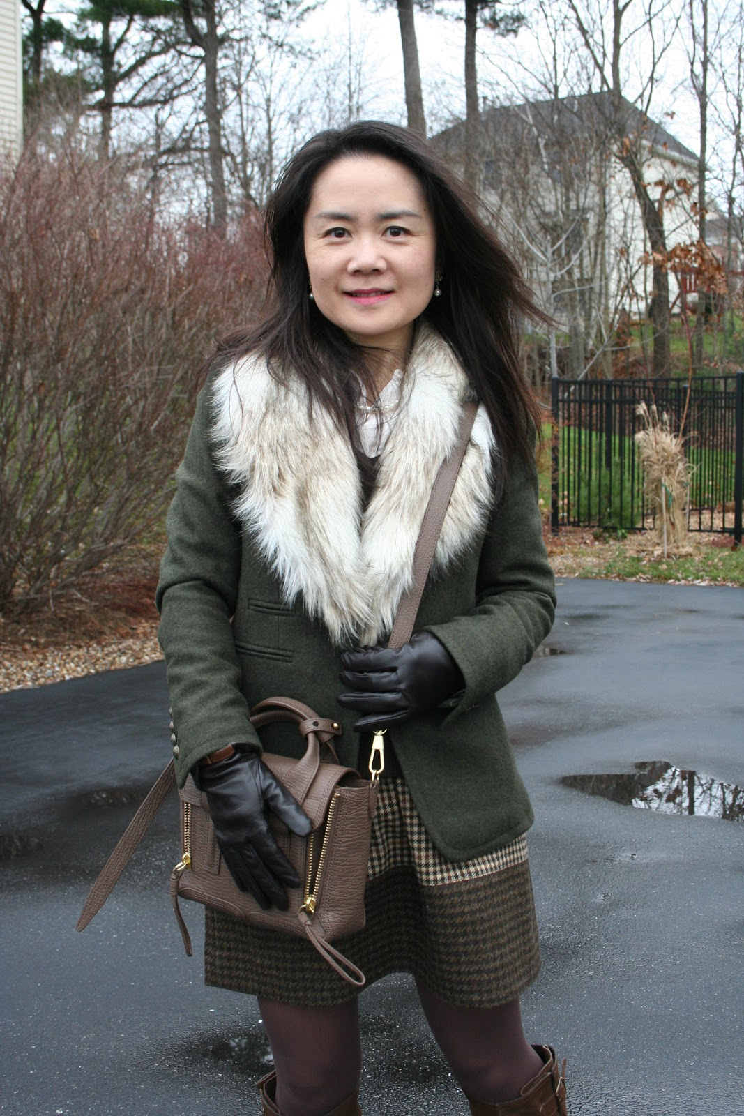 Vicky S Daily Fashion Blog J Crew Colorblock Check Mini